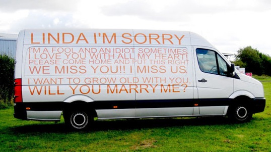 Apology on Van