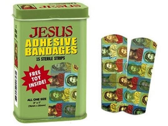 Jesus bandaid